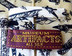Museum Artifacts Mens Aviation Airplanes Necktie – Beige – One Size Neck Tie  http://www.yourneckties.com/museum-artifacts-mens-aviation-airplanes-necktie-beige-one-size-neck-tie-2/