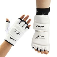 Taekwondo Gloves Sparring Hand Foot Protector Cover Boxing Gloves Taekwondo Brace Protection For Adult Kids