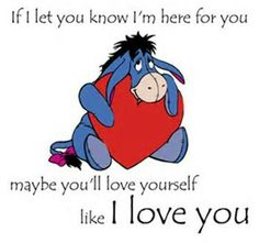 Most memorable quotes fromEeyore, a movie based on film. Find important Eeyore and piglet Quotes from film. Eeyore Quotes about winnie the pooh and friends have inspirational quotes. Cute Winnie The Pooh, Winnie The Pooh Quotes, Winnie The Pooh Friends, Eeyore Quotes, Hug Quotes, Crush Quotes, Qoutes, Tattoo Quotes, Best Love Quotes