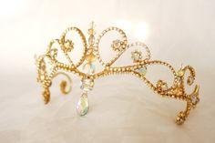 Rhinestone Ballet Tiara --Made-to-order Headpiece-- Completely Customizable Crystal Rhinestone, Swarovski Crystals, La Bayadere, Ballet Costumes, Circlet, Bridal Crown, Vintage Pearls, Tiaras And Crowns, Wedding Hair Accessories