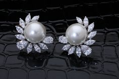 Add subtle #beauty to an #elegant, #everyday #outfit with this exquisite pair of #DiosabyDarshanDave#earrings. Gracefully combining white Korean #pearls with #SwarovskiZirconia, they are perfect for #dailywear and #travel. #makeeverydaybrilliant #jewellery #finejewellery#traveljewellery #weddings #fashionwear#preciousjewellery #luxejewellery #dailywear#workwear #casualwear #destinationweddings #bridalwear #womansnewbestfriend