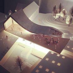 建築系必看的300個超細緻建築模型三之二 | Foot Work︱ 走思客設計圖誌