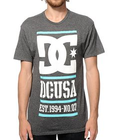 A stylish Rob Dyrdek signature style with a white and mint DC logo and text graphic screen printed at the front.