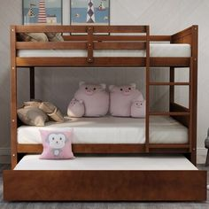 Bunk Bed With Trundle, Full Bunk Beds, Full Bed, Full Size Platform Bed, Platform Beds, Beds For Small Rooms, Small Spaces, Adjustable Beds, Bed Furniture
