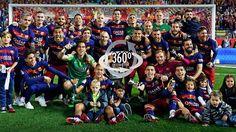 360-degree video of the Copa del Rey celebrations at the Calderón