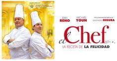 """Película """"El Chef, la receta de la felicidad"""" deliciosa comedia con instinto culinario.  Para pasar un buen rato un día como hoy, feliz domingo!! #cineygastronomia #cine #gastronomia @acontrafilms"""
