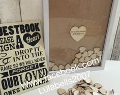 Personalised drop top guestbook x 100 guest book by TheGuestbookCo