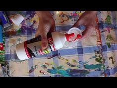 """#11 TUTORIAL ACRILICOS FLUIDOS (Acrylic Pouring) En Español - """"Frescura"""" - (Dipping) - YouTube"""