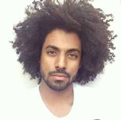 men's hair. afro hair.