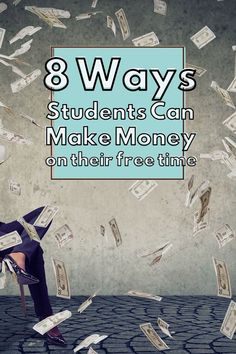 We have put together this list of side hustles for students to make money around their own schedule. Girl College Dorms, College Students, College Student Discounts, Earn Money From Home, How To Get Money, U Of Utah, Best Part Time Jobs, Jobs For Teens, Social Studies Classroom
