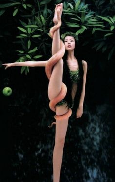 So that is what he meant by forbidden fruit.