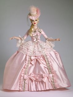 Tonner Dolls Court Gown - Outfit  $249.99  ~le sigh~  I wish.  XD  It's gorgeous, though.