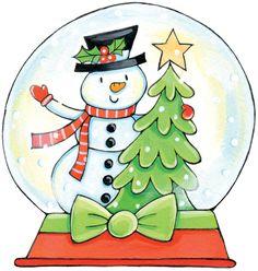Snow Globe Animated Clip Art | Christmas Snow Globes Clip Art ...