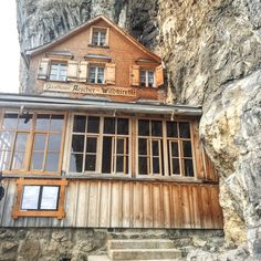 5 Things to do During Your Visit to Cliff House Aescher-Wildkirchli Cliff House, Austria, Things To Do, Cabin, House Styles, Blog, Travel, Ideas, Switzerland
