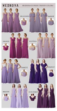Wisteria Bridesmaid Dresses, Pink Bridesmaid Dresses Short, Dark Purple Bridesmaid Dresses, Marie, Wisteria Pergola, Wisteria Trellis, Wisteria Garden, Wisteria Wedding, Wisteria Tree