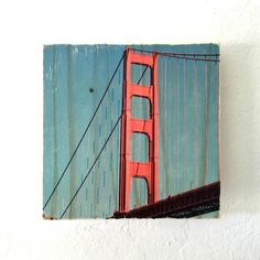 International Orange: Golden Gate Bridge - Rectangle or Square