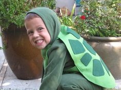 basics for a turtle costume, but we need spikes for a snapping turtle