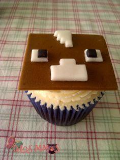 cupcakes minecraft Minecraft Cupcakes, Desserts, Food, Tailgate Desserts, Deserts, Essen, Postres, Meals, Dessert
