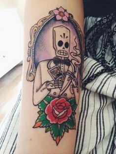 grim fandango tattoo - Google'da Ara