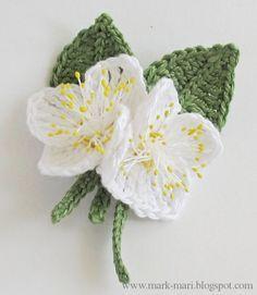 Dos flores para decorar - con PAP