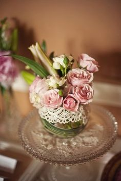 Google Image Result for http://cache.elizabethannedesigns.com/blog/wp-content/uploads/2010/06/Pink-Roses-in-Lace-Wrapped-Vase-250x375.jpg