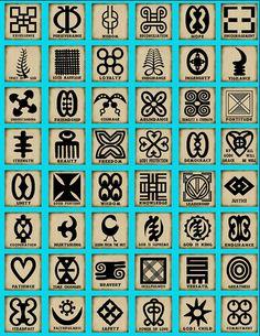 Adinkra Symbology #art #symbols #adinkra www.kootation.com/ http://whetherornot.info/