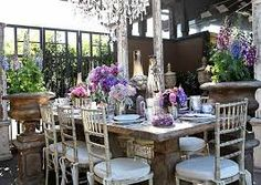 table settings dinner at home rustic - Google Search