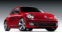 The renowned German automotive company Volkswagen has unveiled the Century Beetle in three continents. This unique retro-styled VW 2012 Beetle was unveiled Red Beetle, My Dream Car, Dream Cars, Vw Cabriolet, Vw Eos, Volkswagen New Beetle, Beetle Car, Beetle Convertible, Sport Style