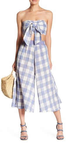 L'Atiste Checkered Wide Pant Set (affiliate)