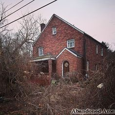 Abandoned home  Visit my Abandoned America website for more by abandoned_america