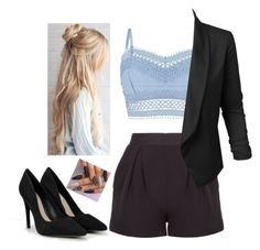 """""""Untitled #67"""" by amanda-nielsen on Polyvore featuring Lipsy, LE3NO and CHARLES & KEITH"""