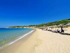 Aselinos beach in Skiathos island