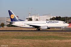 D-ABEE. Bild vom 25.08.2016 in Frankfurt, CN 25216, Boeing 737-330, Lufthansa