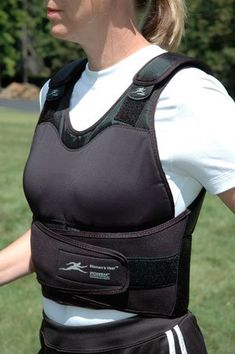 BESTSELLER! Women`s VestTM (Adjustable Height) Contoured 1 to 21 Lb. Weighted Vest Supplied At 21lbs $279.99