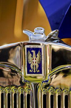 1929 Bianchi S8 Graber Cabriolet Hood Ornament And Emblem_Jill Reger