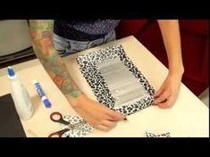 Como fazer acabamento de vaso com papel crepom - vaso de caixa de leite! - YouTube Tetra Pak, Hobbies And Crafts, Diy And Crafts, Milk Carton Crafts, Recycled Magazines, Diy Wallet, Embroidered Bag, Craft Bags, Diy Bow