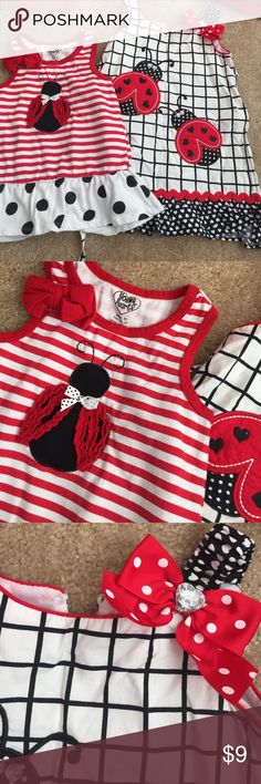 Lady bug dress and top A ladybug dress and too. Both size 3t in great condition. Worn dress once and top a few times. Dresses Casual