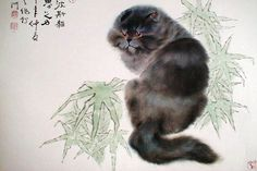 Gu Yingzhi has produced over a thousand sketches of cats, capturing them in playful poses, catching bugs and butterflies. Her works combine her mastery of..