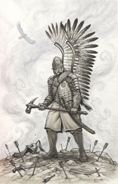 Polish Hussar Warrio