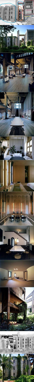 ARCHITECTURE >>> Bureau et résidence de Ricardo Bofill