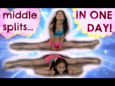 How to Get MIDDLE SPLITS in ONE DAY - YouTube