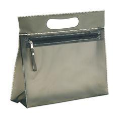 MOONLIGHT Прозрачный ПВХ косметические мешок с застежкой-молнией.