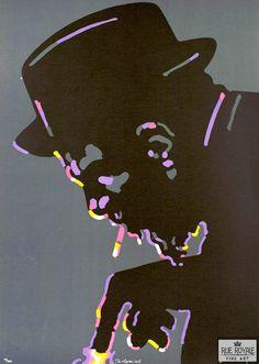 Design is fine. History is mine. — Waldemar Świerzy, poster artwork for Jazz Greats,...