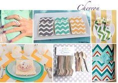 . chevron patterns, inspiration, weddings, malibu, cooki, chevron wedding, babi shower, chevron cakes, baby showers