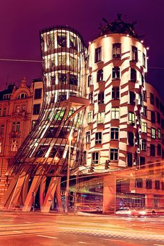 Fred and Ginger - Dancing House, Prague, Czech Republic