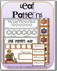 autumn themed interactive printables