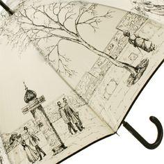 Paris Street Umbrella by Guy de Jean