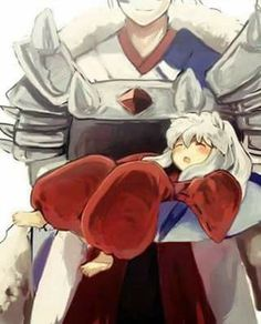 If only. Inuyasha's dad passed away when he was born.