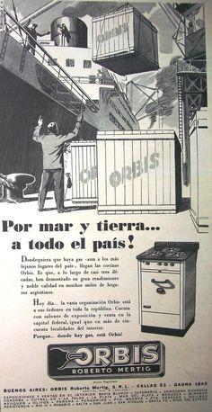 Orbis Cocinas 1950