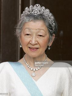 Her Imperial Majesty Empress Michiko Of Japan Attends The Tercentenary Birthday Celebrations For Carl Linnaeus In Sweden.Banquet At Uppsala Castle . (Photo by Mark Cuthbert/UK Press via Getty Images)